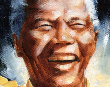 Mandela, who was able to put aside all bitterness to lead South Africa into a democracy