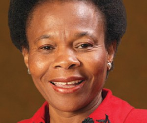Minister of Mineral Resources Susan Shabangu