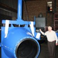 Atval director Ted Atkins alongside one of the three  800mm pinch valves.jpg