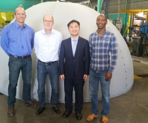Picture  Luther Erasmus -Rainer Redinger -Mingan Wan and Kgashane Mohale.jpg